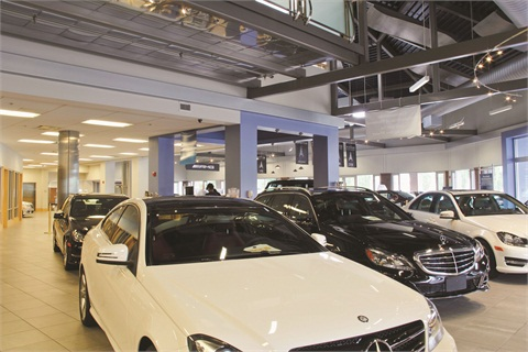 The profit per retail unit at Mercedes-Benz of Westwood is $2,000, more than $1,200 of which is attributed to product sales.