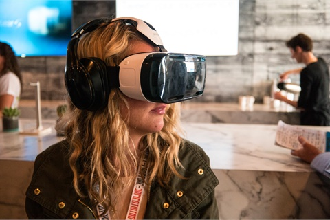 Virtual and augmented reality is among the innovations poised for widespread adoption among auto dealers in 2018. Photo by Nan Palmero