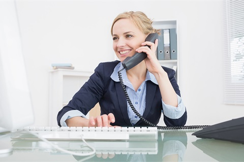 Dealers may not monitor employee phone calls of a personal nature, even if they are made on company time with company phones. Photo ©GettyImages.com/Wavebreakmedia
