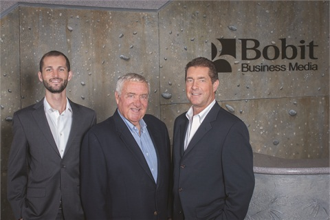 <p>Ed Bobit launched F&I Management and Technology magazine, now called F&I and Showroom, in 1998, giving the F&I industry its first dedicated trade publication. Pictured above is Bobit with his son Ty, who became CEO of Bobit Business Media in 2004, and grandson Blake, who joined the company in 2010.</p>