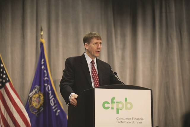 Richard Cordray officially resigned as the CFPB's director on Nov. 24, 2017. On May 8, 2018, the former regulator won the Democratic primary for Ohio governor.