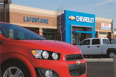 LaFontaine's Chevrolet store has been using Connect4Content since November to fill in the content gaps on its Facebook page.