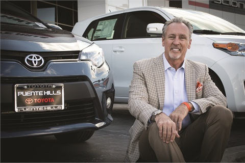 General Manager Nicholas Cardin's No. 1 rule for his salespeople is to always agree with the customer and be easy to to buy from.