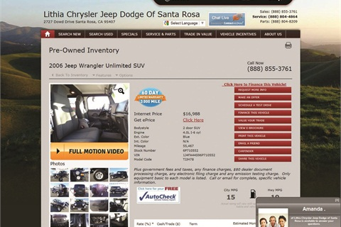 A dealership's vehicle display page is usually a customer's last stop when shopping online.