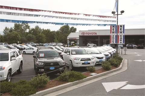 lithia motors inc built to scale article f i and showroom