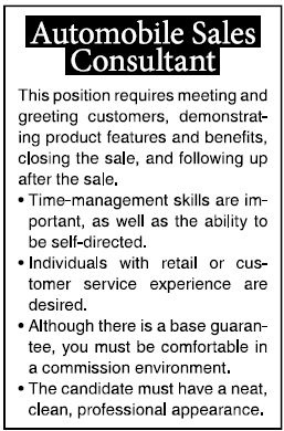 how does this job look to you lets be honest its boring who would apply for this job boring job ads attract boring candidates