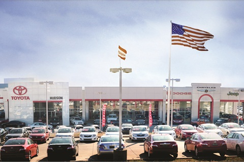 Hudson Toyota in Madisonville, Ky., is one of the 1,300 or so Toyota, Lexus and Scion dealerships now econtracting with Toyota Financial Services. The captive processed its one millionth electronic contract last October. Today, 75% of the contracts it receives are submitted electronically.