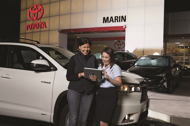 <p>San Francisco-based Roadster launched its Express Storefront digital retailing and financing platform in June 2016. A month later, San Rafael, Calif.-based Toyota Marin became the first dealership to embrace the company's ecommerce solution.</p>