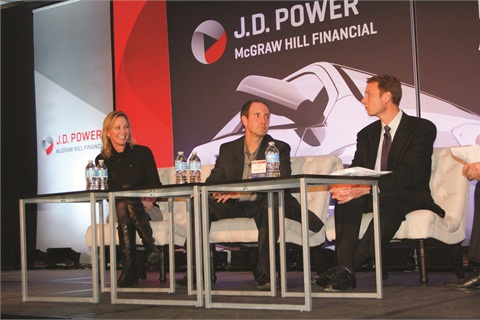 Toyota's Kimberley Gardiner spoke about the automaker's efforts to bridge the gap between the web and the showroom during J.D. Power's International Automotive Roundtable in January.