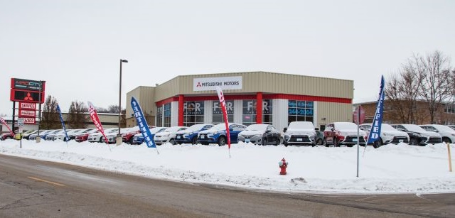 Located on the Beltline in Madison, Wis., Mad City Sales and Service became Mad City Mitsubishi in 2016. The store will move into a new building on a larger site this year.