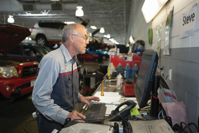 Steve Travis has been a member of the Liberty Toyota staff since 1978 and has earned a number of awards, including nomination to the 2014 Assembly of Champions. Photo: Brent Asay