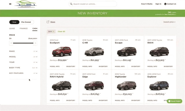 Digital retailing provider Roadster launched at NADA 2018 Express Marketplace, a tool aimed at turning a dealer group's 'home' site into an ecommerce portal. It aggregates a group's entire inventory with Roadster's ecommerce experience.