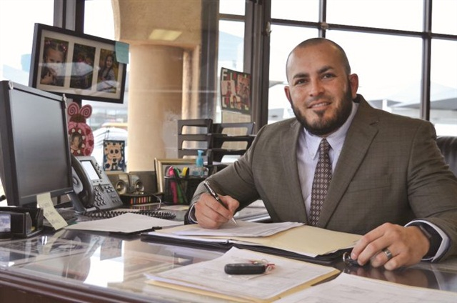 After eight years on the job, Rodriguez has built a database of repeat and referral customers.