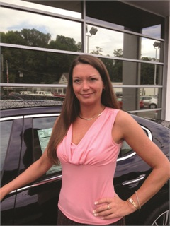 Stephanie Cooper, F&I producer for Cumberland, Md.-based Timbrook Automotive, won the Vehicle Service Contract category and a $1,000 cash prize.