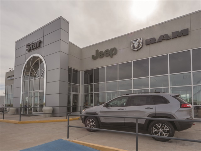 Dealer Mike Dunnahoo walked through the doors of what was then Star Dodge on Aug. 6, 1999. The dealership, which is located 180 miles west of the Dallas-Fort Worth metro area along U.S. 83 in Abilene, Texas, was originally built in 1962. In March 2014, Dunnahoo renovated the facility, adding 6,500 square feet to the service department and showroom. The Hyundai franchise, which is about a two- to three-minute walk from the Star Dodge Chrysler Jeep Ram showroom, was added in 2001.