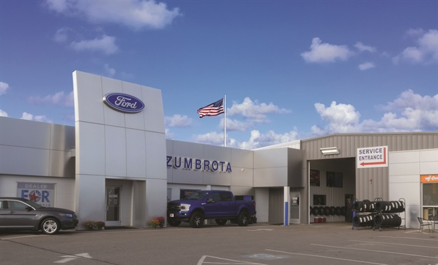 Zumbrota Ford is a 19-year-old dealership located in a small Minnesota town of the same name