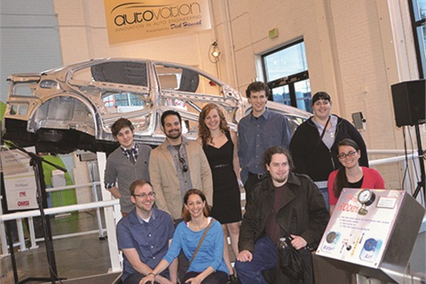Dick Hannah Dealerships partnered with students of Washington State University Vancouver on Autovation, an exhibit at the Oregon Museum of Science and Industry.