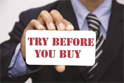 Try Before You Buy - Articles - F&I Products - Articles - F&I and ...