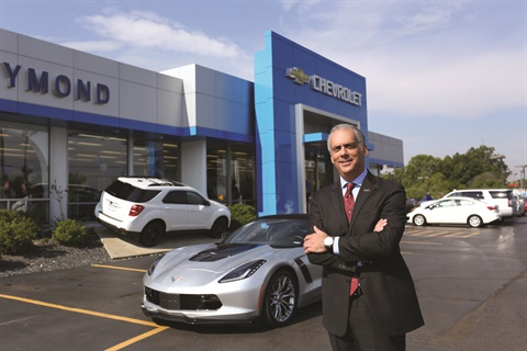 Incoming NADA Chairman Mark Scarpelli is a second-generation dealer. He serves as president of Raymond Chevrolet in Antioch, Ill., and co-owners, with his brother Ray Scarpelli, of Ray Chevrolet and Ray Chrysler Jeep Ram Dodge in nearby Fox Lake. Before joining the family business, Scarpelli attended Northwood University in Midland, Mich., and served as a district manager of sales for General Motors.