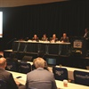 "Moderated by F&I and Showroom's Gregory Arroyo, Industry Summit's 'From the Boardroom"" panel featured Tim Blochowiak of Protective Asset Protection, Greg Oltman of Dent Zone, David Pryor of Safe-Guard Products International, and Matt Trudeau of Dent Wizard. They put the national per-copy average between $1,150 and $1,200, offered their target penetration rates, discussed the popularity of product bundles, and addressed the online F&I push."