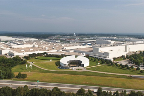<p>BMW has undertaken an expansion of its already massive assembly plant in Spartanburg, S.C. BMW joins Volkswagen and a number of Japanese and Korean OEMs that have ramped up U.S. production in recent years.&nbsp;</p>