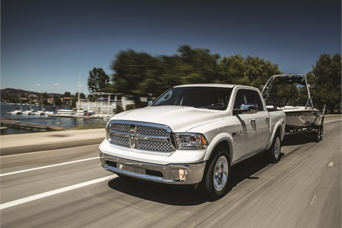 Ram pickups logged impressive gains in the first half of the year, when positive reviews and high incentives helped increase sales by 21%. The Truck Wars will heat up once again with the redesigned 2015 Ford F-150, due later this year.