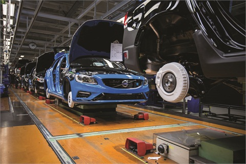 Volvo has shifted production of the long-wheelbase S60 from Stockholm, Sweden, to the Chengdu, China, plant operated by its parent company, Zhejiang Geely Holding Group.