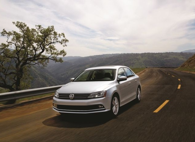 "Volkswagen has pledged to compensate dealers for halted sales on models affected by ""Dieselgate,"" including the 2015 Jetta, pictured."