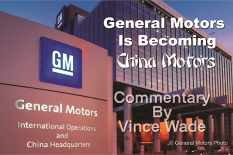 General Motors announced last month it will open four more plants in China. Ziegler says he won't be too happy if any of those vehicles are sold in the U.S. market.