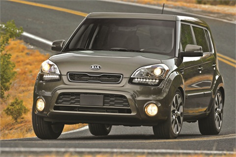 Thanks to vehicle models like the Soul, Kia is on pace to capture 4 percent of the new-vehicle market this year. Ziegler is impressed with the quality and designs of Kia's vehicle lineup.