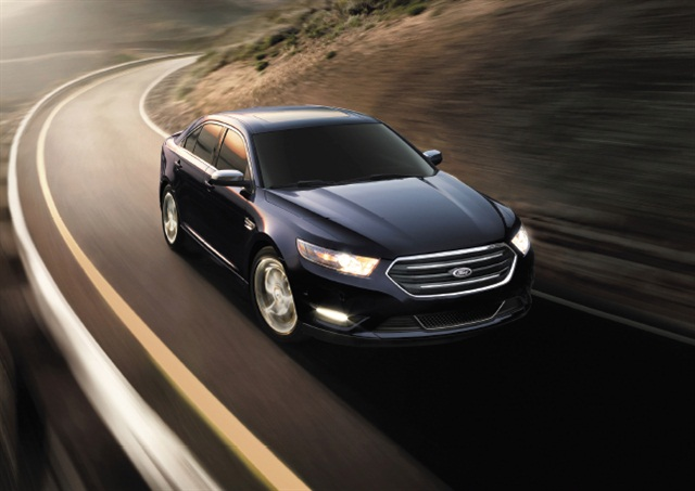 The author believes the Ford Taurus suffers from a lack of the type of brand identity enjoyed by midsize competitors such as the Toyota Camry and Honda Accord.  Photo courtesy of Ford.