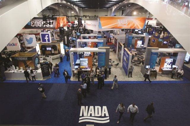 Dealers and industry executives flocked to the Moscone Center in San Francisco for the 2015 NADA convention.