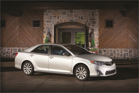 The Toyota Camry was one of the models involved in the manufacturer's massive recall last year.