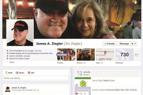 Ziegler's Facebook page has served as the launchpad for many of his dealer activist activities. One name that has been popping up on the page of late is Carfax, and Ziegler says attorney Lenny Bellavia has taken note.