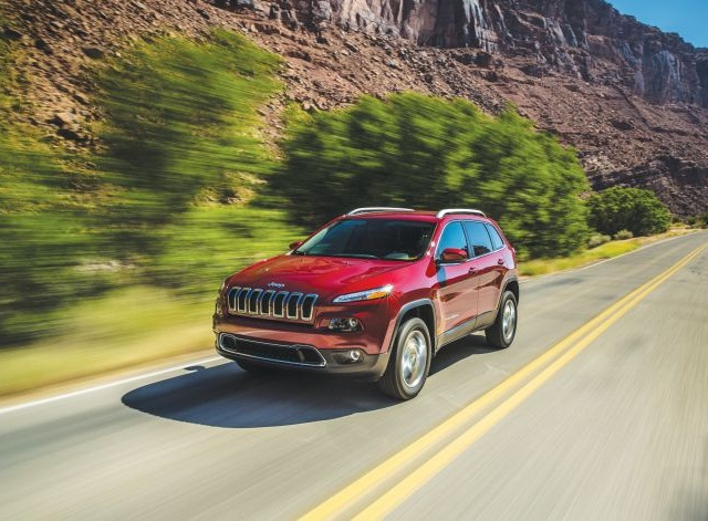 The successful launch of the new Jeep Cherokee and Ram 1500 EcoDiesel helped propel massive sales increases for Chrysler in the fourth quarter of 2014. Photo courtesy of Fiat Chrysler Automotive
