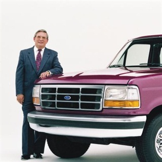 The author credits the late Ross robers with making pickups a priority for Ford Motor Co. Photo courtesy of Ford.