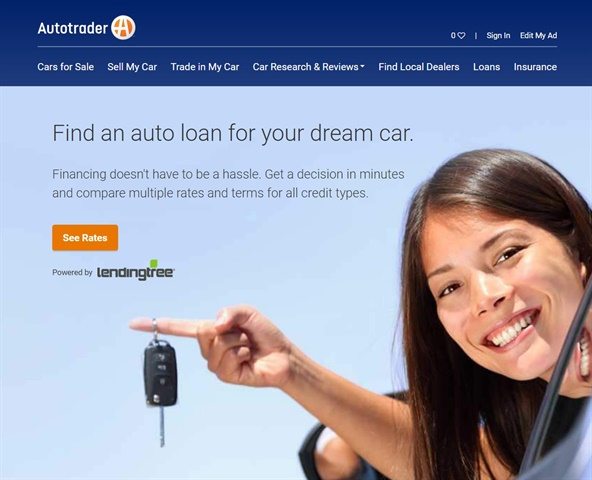 IRVINE Calif And CHARLOTTE NC Cox Automotive Brands Autotrader Kelley Blue Book Have Teamed With LendingTree To Provide Visitors Of Both Sites