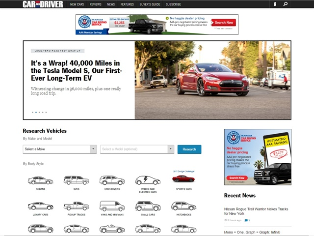 Car and Driver' Enters Lead-Gen Arena With New Inventory Listing
