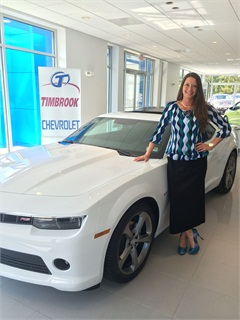 Stephanie Cooper of Timbrook Automotive