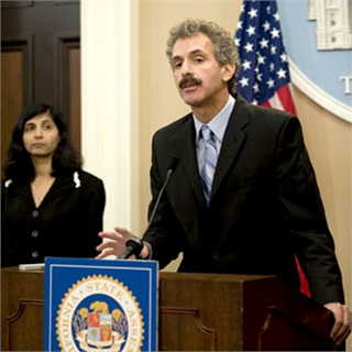 California State Assembly Member Mike Feuer greets the press in a file photo. This week, Feuer introduced AB 1447, one of a pair of bills that would impose new regulations on buy here, pay here dealers, including a ban on the use of payment assurance devices.
