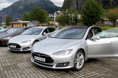 <p>Tesla has demonstrated a rare immunity to disenchanted customers, who have remained loyal despite a long list of quality issues. <em>Photo courtesy Norwegian Electric Vehicle Association</em></p>
