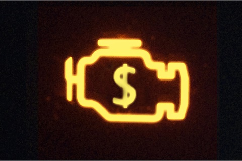 <p><strong>Check engine lights led to fewer catastrophic repairs in 2017 than in years past, according to the latest figures from CarMD. </strong><em>Photo by Robert Couse-Baker via Flickr</em></p>