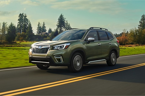 Loyalty to sport and crossover utility vehicles such as the Subaru Forester stands at 66.9%, an increase of more than 10 percentage points since 2012, according to IHS Markit. Photo courtesy Subaru of America Inc.