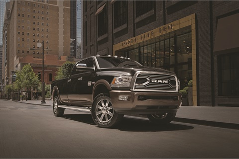 Ram's heavy-duty pickups are among the millions of vehicles recalled by Fiat Chrysler over a software defect that could affect their cruise control systems. Photo courtesy FCA Group