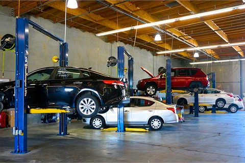 Manheim San Francisco Bay has opened the 19th location in the auction provider's growing network of retail reconditioning centers. Photo courtesy Manheim