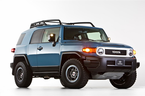 The Toyota FJ Cruiser has enjoyed sustained popularity since wrapping production in 2014-MY, increasing in value by more than 25% compared with other vehicles in its segment, according to a new report from Black Book. Photo courtesy Toyota Motor Sales USA Inc.