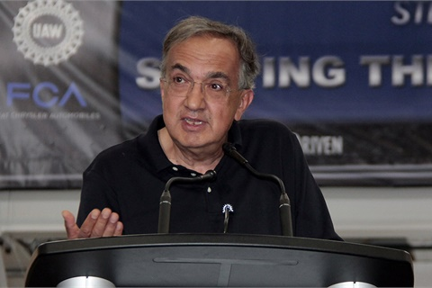 Former FCA and Ferarri CEO Sergio Marchionne has died following complications from surgery. He was 66. Photo courtesy Fiat Chrysler Automobiles