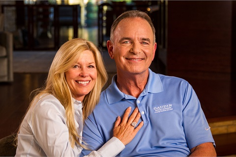 Debbie and Gary Ackerman, Gaudin Motor Co.'s third-generation owner, were interviewed for an award-winning documentary about the Las Vegas dealer group. Photo courtesy Life Story Media