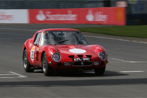 A Ferrari 250 GTO similar to the example pictured above sold for $48.4 million at the Concours d'Elegance classic car show this weekend. Photo by Paul Williams via Flickr
