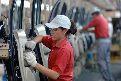 More than half (56%) of franchised U.S. auto dealers say tariffs on imported vehicles would hurt their businesses, according to Cox Automotive's most recent Dealer Sentiment Index. Photo courtesy Nissan USA